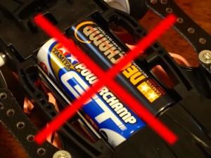 電池の間違った使い方1