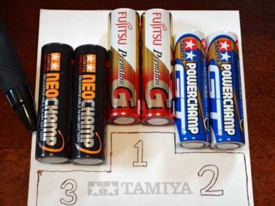 乾電池の性能の順位
