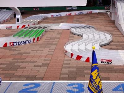 ミニ四駆ジュニアカップのコースその1