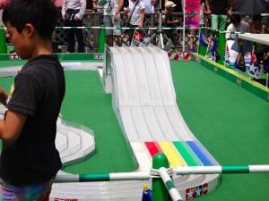 大会コースの内容(ナイアガラスロープver.2)