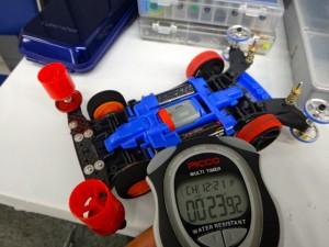 5走目:トルクチューンモーターPROの走行タイム