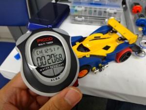 6走目:ハイパーダッシュモーターPROの走行タイム