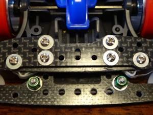 ミニ四駆の小部品の使用例その2