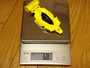 エアロアバンテのクリヤーボディの重量