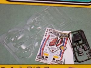 過去に発売されていたフルカウルミニ四駆のクリヤーボディその2
