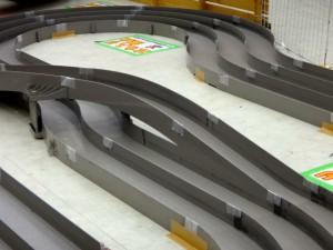 越谷レイクタウンにあるミニ四駆ステーションのコースその2(レーンチェンジ)