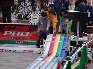 ミニ四駆ジュニアカップ・トレッサ横浜杯2013[秋]フリー走行の様子その3