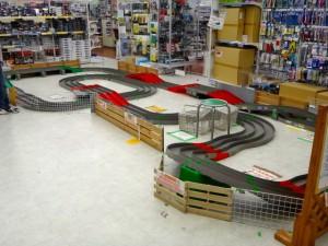 越谷レイクタウンにあるミニ四駆ステーションに設置されたコース