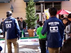 ミニ四駆ジュニアカップ・トレッサ横浜杯2013[秋]大会運営するスタッフの様子その11