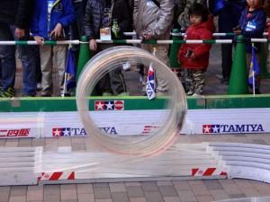 ミニ四駆ジュニアカップ・トレッサ横浜杯2013[秋]練習走行の様子その4