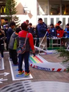 ミニ四駆ジュニアカップ・トレッサ横浜杯2013[秋]練習走行の様子その11