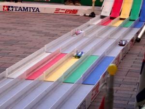 ミニ四駆ジュニアカップ・トレッサ横浜杯2013[秋]レースの様子その2