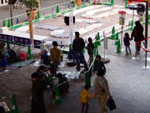 ミニ四駆ジュニアカップ・トレッサ横浜杯2013[秋]開始前の様子その1