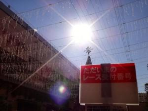 ミニ四駆ジュニアカップ・トレッサ横浜杯2013[秋]当日の天候