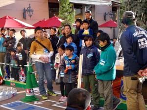 ミニ四駆ジュニアカップ・トレッサ横浜杯2013[秋]優勝決定戦の様子その2