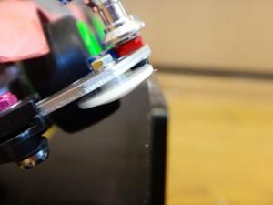 ライジングエッジ(MSシャーシ)のスライドダンパー下に取り付けたスタビヘッドの効果確認