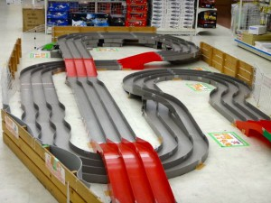 越谷レイクタウンにあるミニ四駆ステーションのコースその1