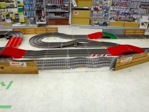 越谷レイクタウンにあるミニ四駆ステーションのコースその2
