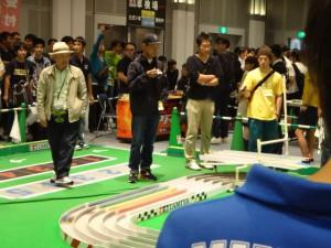 公式大会のレース中の様子