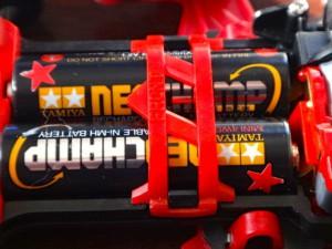 ミニ四駆の電池カバー