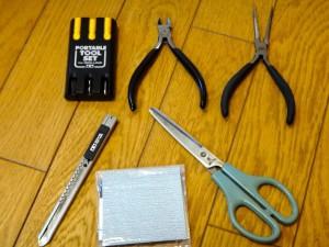 ミニ四駆の工具