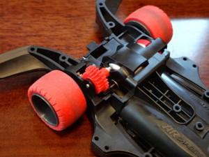 片軸モーターのカウンターギヤ