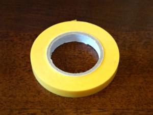 マスキングテープ(幅6mm)