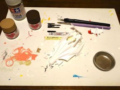 ボディの塗装作業その4