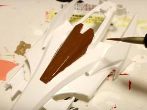 ボディの塗装作業その8