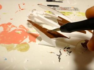 ボディの塗装作業その10