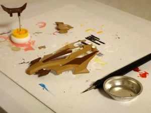 ボディの塗装作業その17