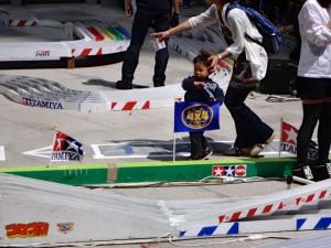 ミニ四駆スプリンググランプリ2014の様子その2