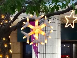 品川シーサイドのイベントスペースの飾り
