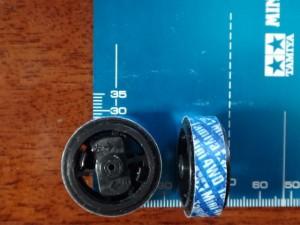 直径28mmの超大径ホイール改造その2