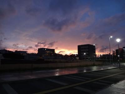 夕焼けの町