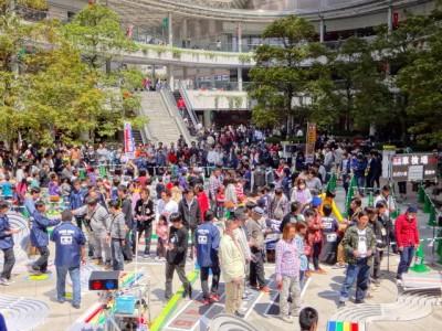 ミニ四駆グランプリ2015東京大会の様子