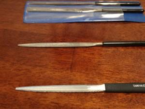 半丸型の鉄ヤスリ