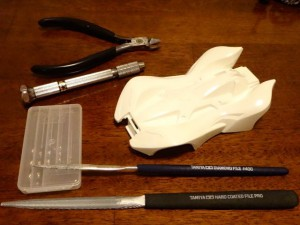 プラボディ&加工に使う道具