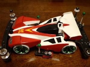 スーパーIIシャーシ基本改造のマスダンパーのボディ装着その1