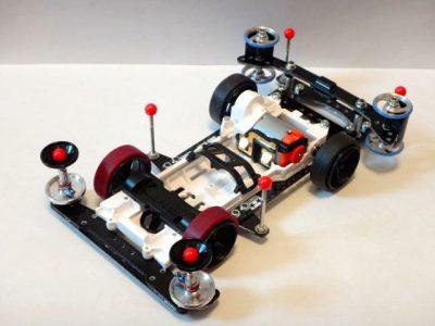 スーパーⅡシャーシ改造のミニ四駆その1