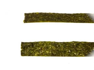 2枚の海苔