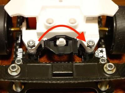 スーパーⅡシャーシ改造のミニ四駆その26