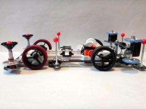 スーパーⅡシャーシ改造のミニ四駆その2