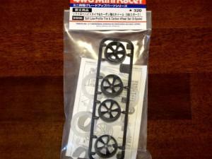 ソフトローハイトタイヤ&カーボン強化ホイール(5本スポーク)