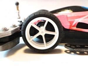 ミニ四駆の大径タイヤ