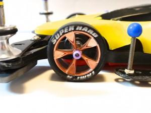 ミニ四駆の中径タイヤ