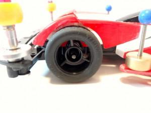 ミニ四駆の小径タイヤ