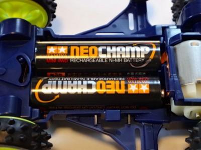 タミヤ充電式電池ネオチャンプ