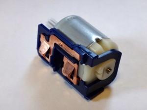 モーターと電池金具のセット