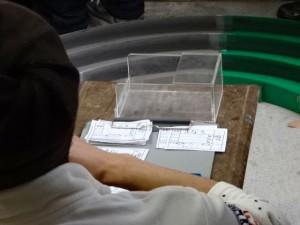 プラモデルショップ シャトルの店舗レースで使われる車検箱